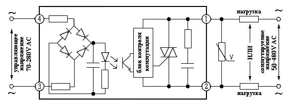 Твердотельное реле на 220 вольт переменного тока